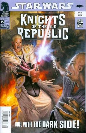 Star Wars Knights Of The Old Republic #35 (2008) Dark Horse comic book